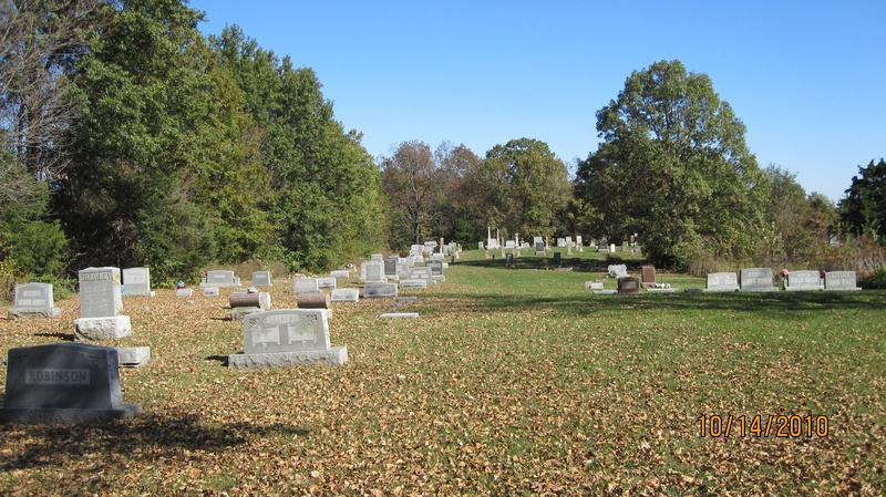 East part of Cemetery